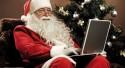 Anche Babbo Natale è social