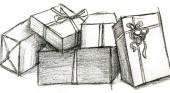 I regali nello sgabuzzino